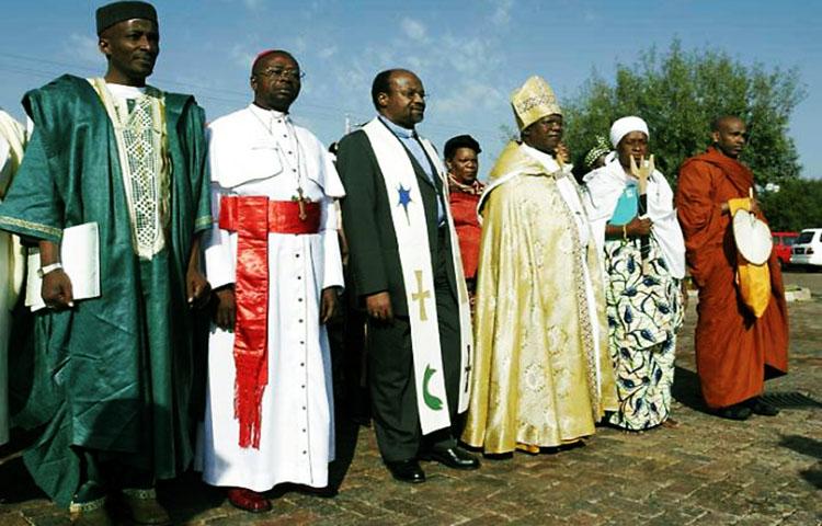 Resultado de imagen de la religión en general en sudafrica