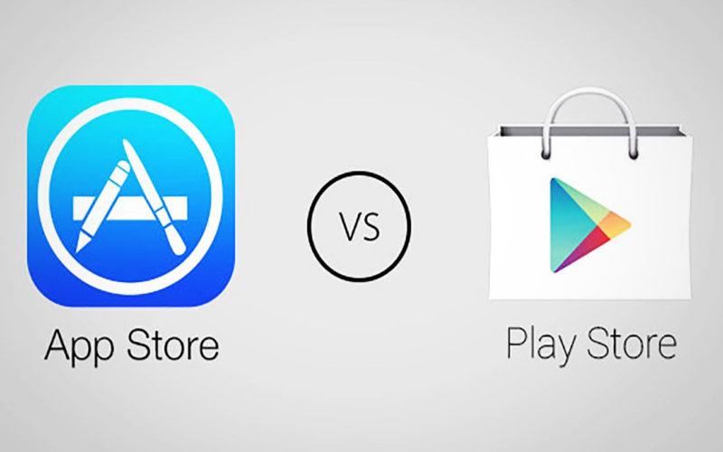 Diferencias entre Google Play Store y Apple App Store