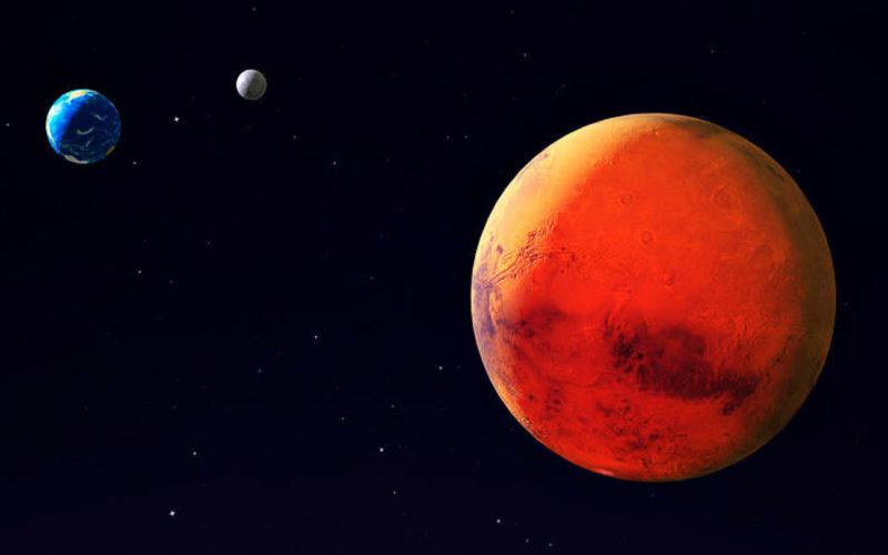 Diferencias entre el planeta Marte y el planeta Tierra