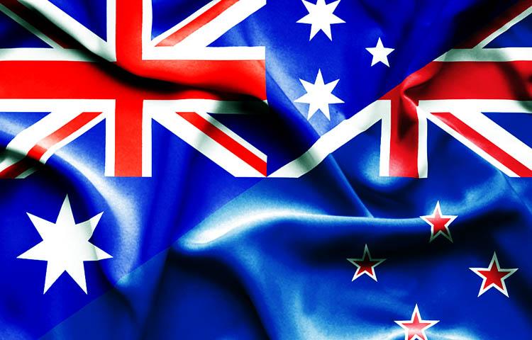 Diferencias entre las banderas de Australia y Nueva Zelanda