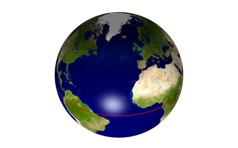 Diferencias entre el ecuador y el eje
